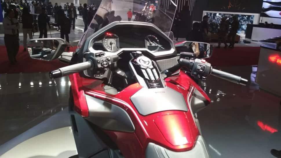 auto expo 2018, auto expo, honda super bike, honda goldwing, super bike goldwing, honda bikes in auto expo