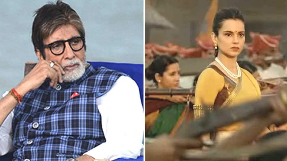 'મણિકર્ણિકા' ફિલ્મમાં સાંભળવા મળશે બીગ-બીનો અવાજ, કવિતા વાંચવામાં કરી ભૂલ!