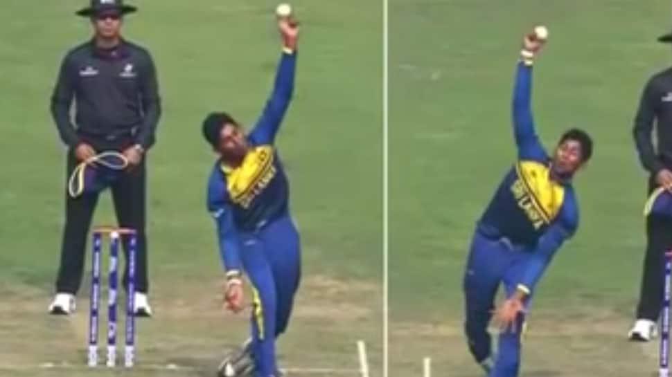 VIDEO : બંને હાથ વડે બોલિંગ કરતો શ્રીલંકાનો કમિન્ડુ મેન્ડિસ આવતીકાલે કરી શકે ડેબ્યુ