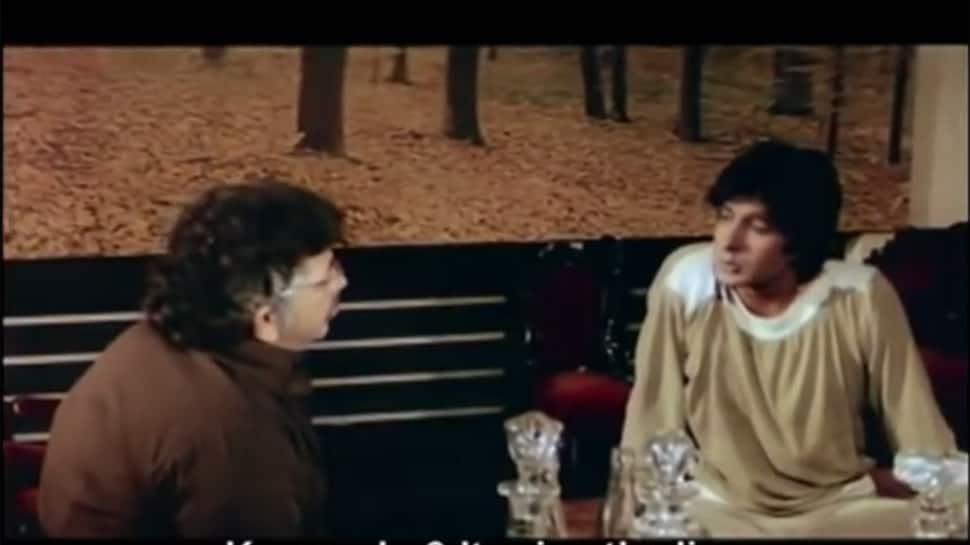 'દારૂ પીને સે લિવર ખરાબ હોતા હૈ' સીનનું શુટિંગ બિગ-બીના 'આ' બંગલામાં થયું હતું