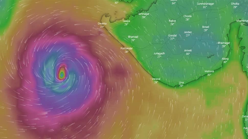 BRAKING NEWS: 'વાયુ' વાવાઝોડાની દિશા બદલાતા ગુજરાત પર સંકટ વધ્યું