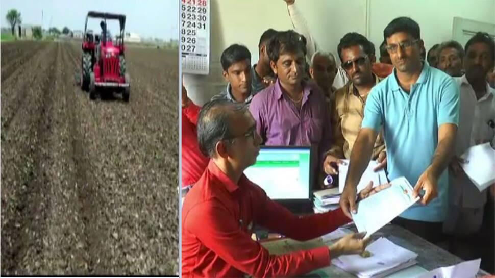 ખેતી નિષ્ફળ જતા પોરબંદરના ખેડૂતોને રોવાનો વારો આવ્યો, પાક વીમાની કરી માંગ