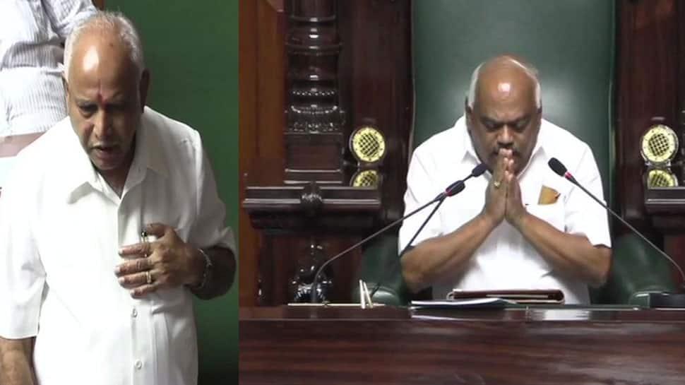 કર્ણાટક Live: CM યેદિયુરપ્પાએ સાબિત કર્યો વિશ્વાસ મત, સ્પીકરે આપ્યું રાજીનામું