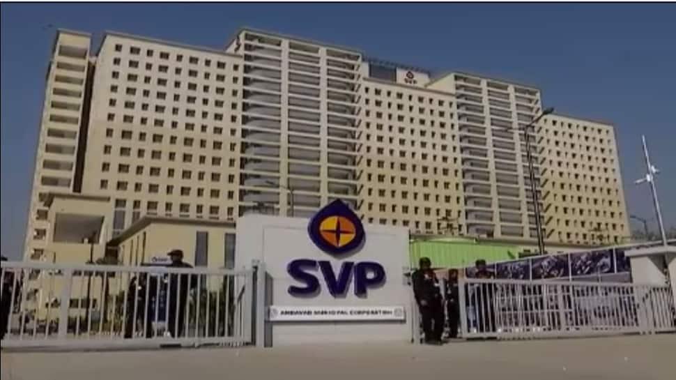 અમદાવાદ : 7 મહિના પહેલા જ નવી બનેલી SVP હોસ્પિટલની છતનો ભાગ તૂટ્યો