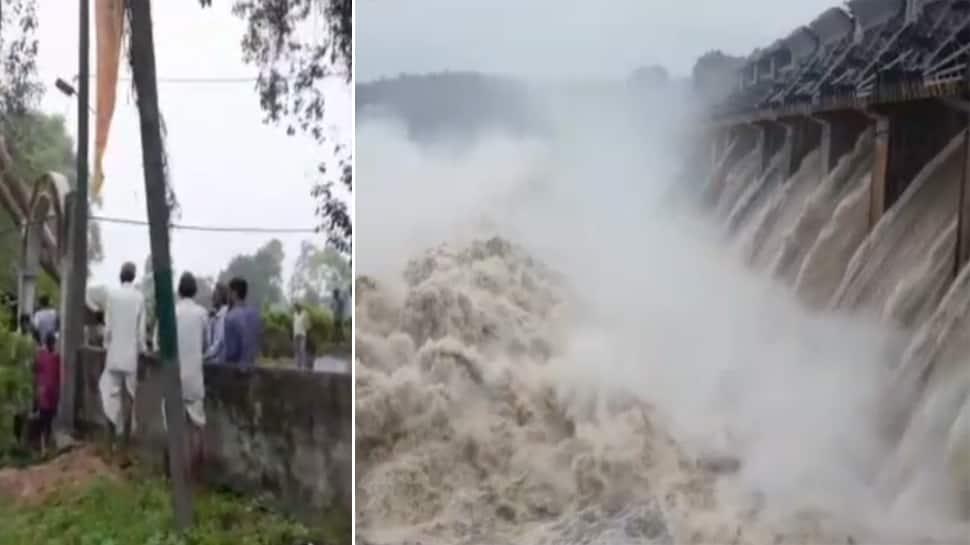 મહીસાગર સાર્વત્રિક વરસાદ, કડાણા અને ભાદર ડેમમાં પાણીની આવક થતા આસપાસના ગામ એલર્ટ પર