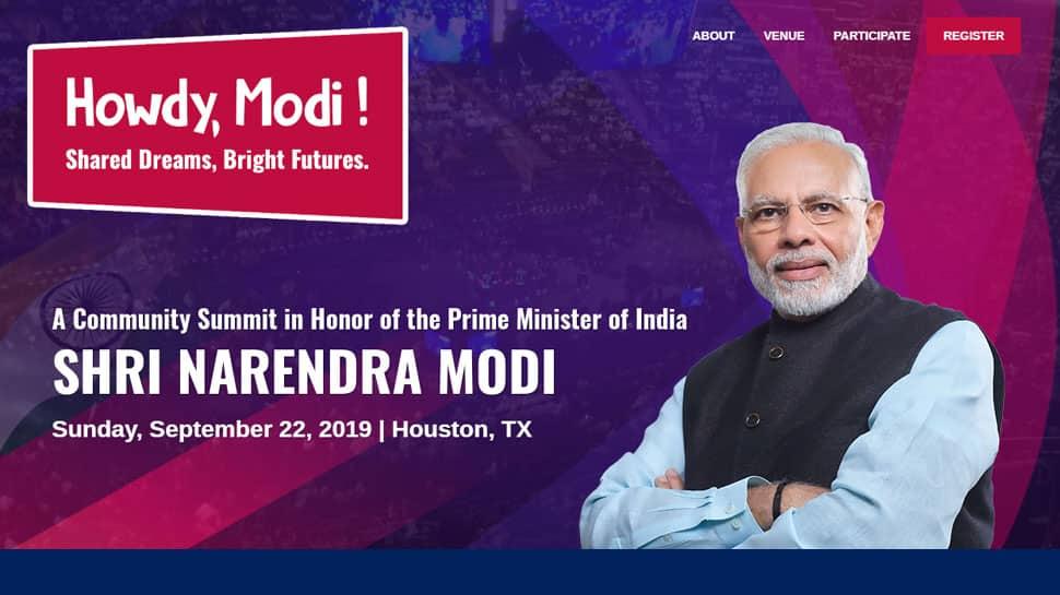 અમેરિકાના હ્યુસ્ટનમાં થશે પીએમ મોદીનો મેગા શો 'Howdy Modi', ટ્રમ્પ પણ થઈ શકે છે સામેલ