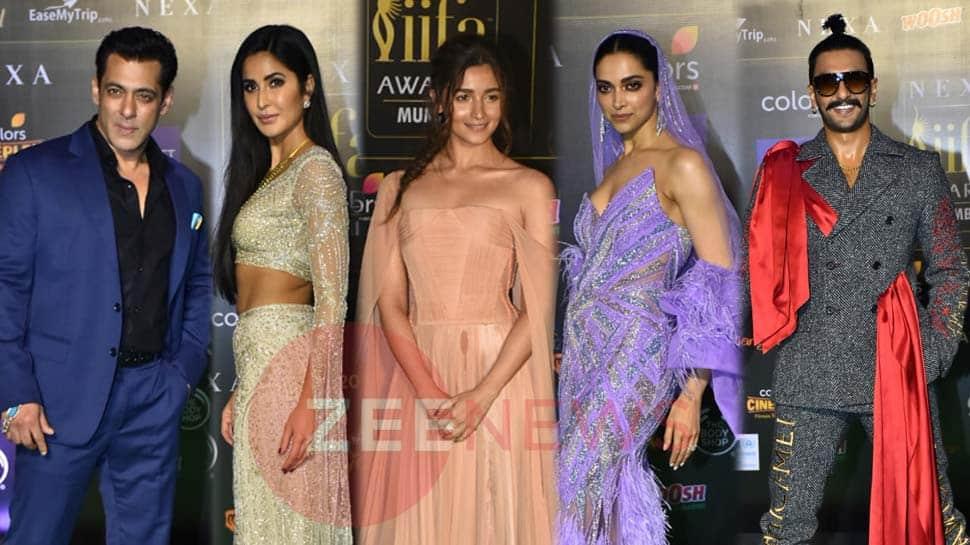 IIFA 2019: સલમાન ખાન, આલિયા ભટ્ટ, દીપિકા પાદુકોણ, આવો જોવા મળ્યો Stars નો LOOK