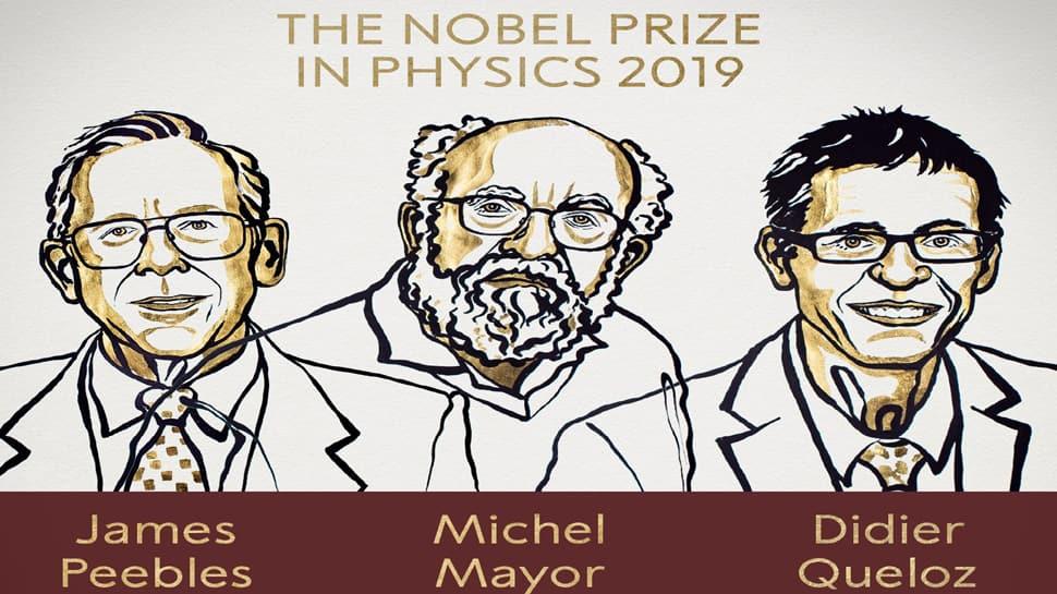 Nobel Prize 2019 : જેમ્સ પીબલ્સ, મિશેલ મેયર અને દેદિયર ક્વેલોઝને ફિઝિક્સનો નોબેલ