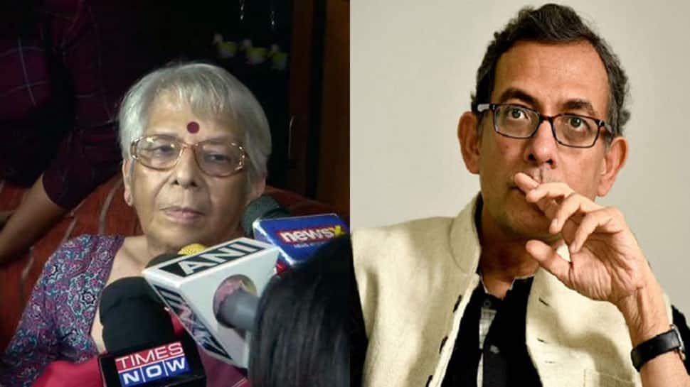 'મેમ, તમારા પુત્રને નોબેલ મળ્યો છે?' જૂઓ શું કહ્યું અભિજીત બેનરજીની માતાએ....