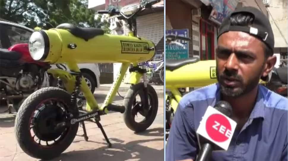 '3 Idiots'ના રેન્ચોને પાછળ પાડે તેવું છે નવસારીના યુવકનું ટેલેન્ટ, બનાવી સસ્તી E-bike