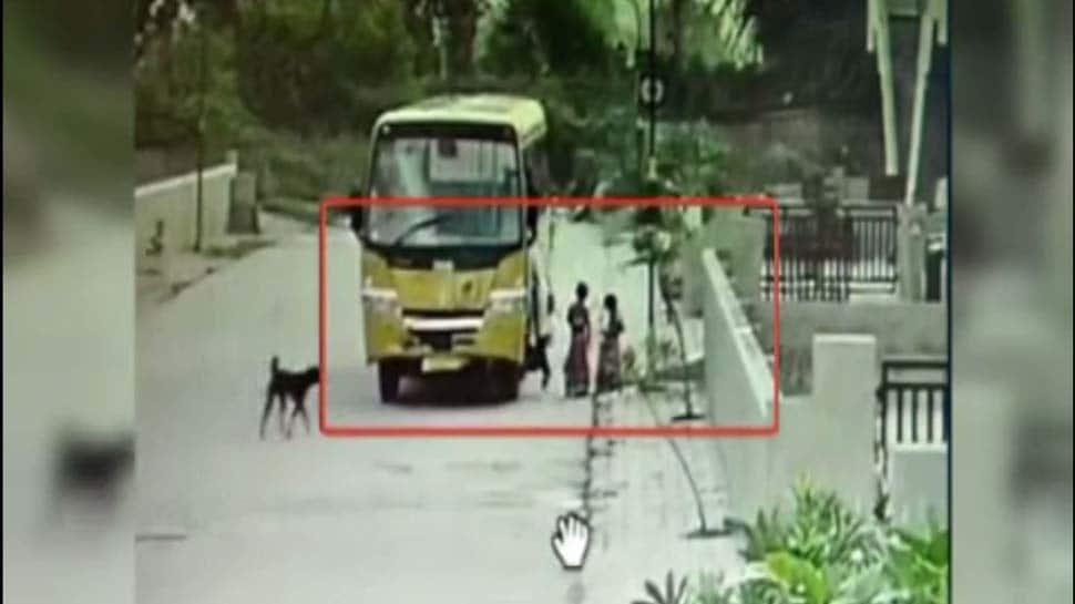 આ CCTV ખોલેશે નિત્યાનંદ આશ્રમનું રહસ્ય : DPS સ્કૂલની બસ આશ્રમના બાળકોને ક્યાં લઈ જાય છે?