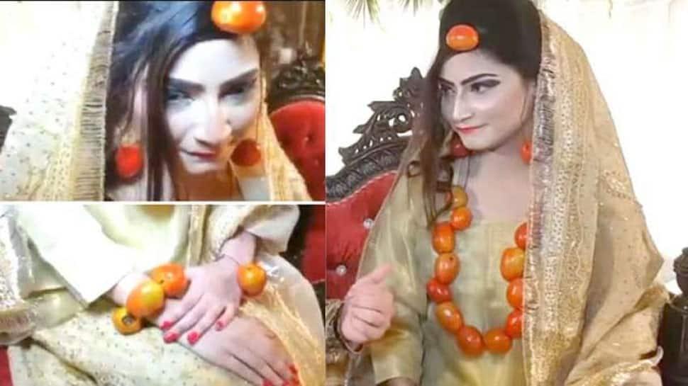 પાકિસ્તાનમાં ટામેટાએ મચાવ્યો હાહાકાર...દુલ્હનો સોનું ભૂલી ટામેટાના દાગીના પહેરવા માંડી