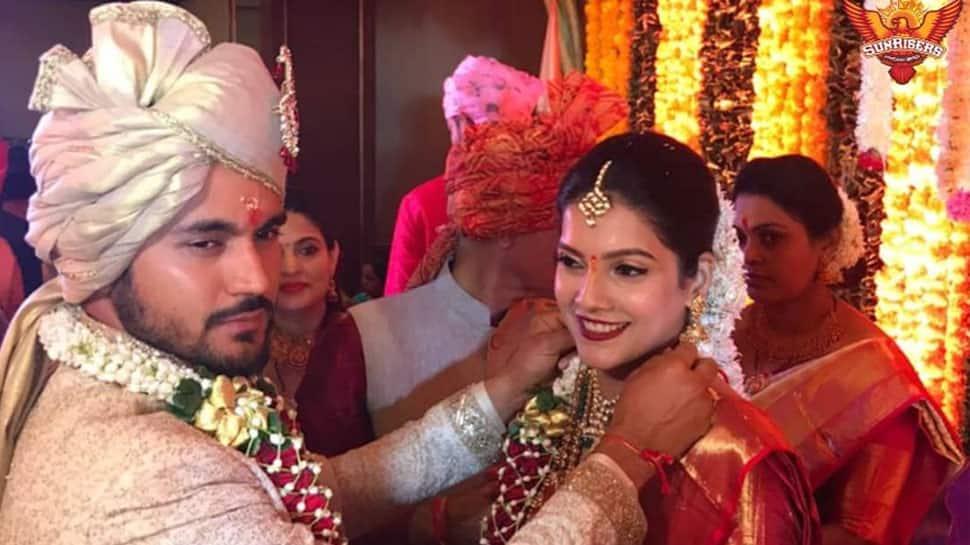 ક્રિકેટર મનીષ પાંડેએ અભિનેત્રી અશ્રિતા શેટ્ટી સાથે કર્યા લગ્ન, શેર કર્યો પ્રથમ ફોટો
