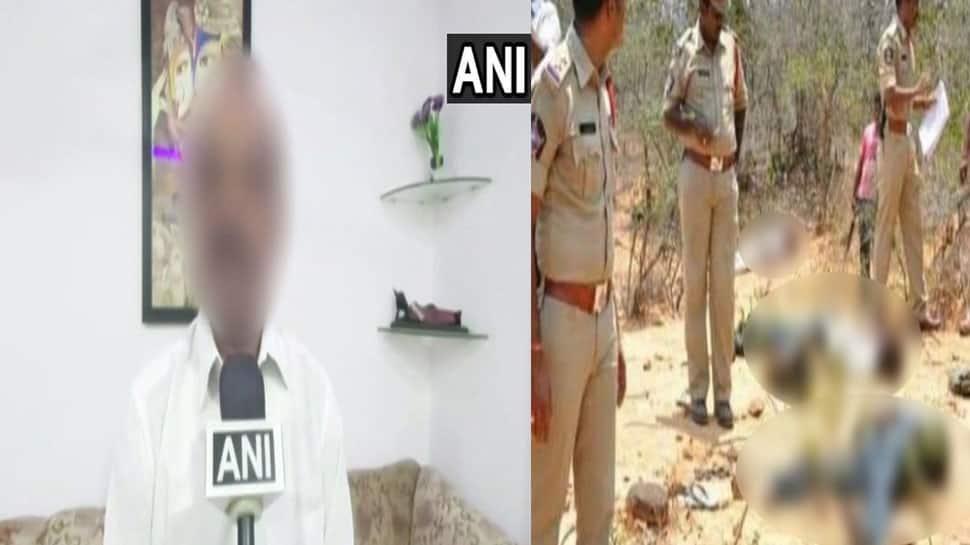 Hyderabad rape case; હૈદરાબાદ ગેંગરેપ મર્ડરના ચારેય આરોપીનું એન્કાઉન્ટર, પીડિતાના પિતાએ કહ્યું, 'પોલીસનો આભાર'