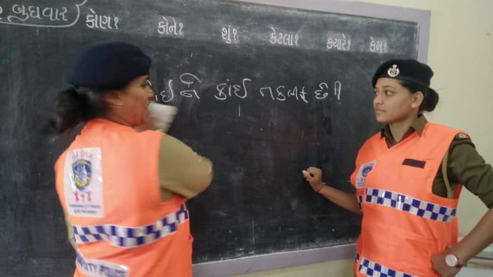 મહિલા સુરક્ષા અંગે મુક-બધીર બાળકોનો પક્ષ સાંભળવા માટે પોલીસની અનોખી પહેલ