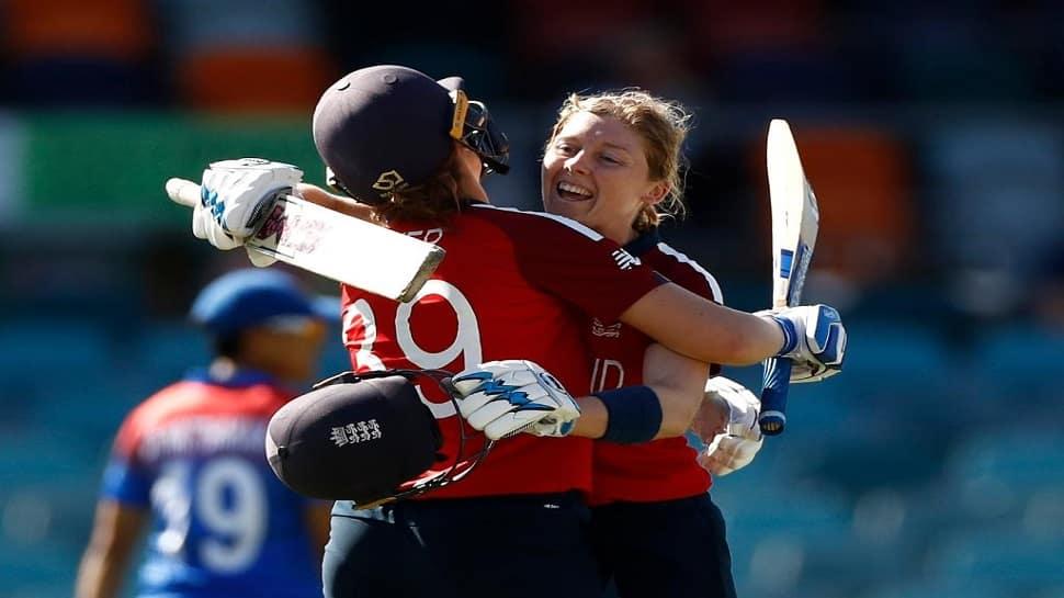 Womens T20 World Cup: હેદર નાઇટે 66  બોલમાં ફટકારી સદી, ઈંગ્લેન્ડે થાઈલેન્ડને 98 રને હરાવ્યું