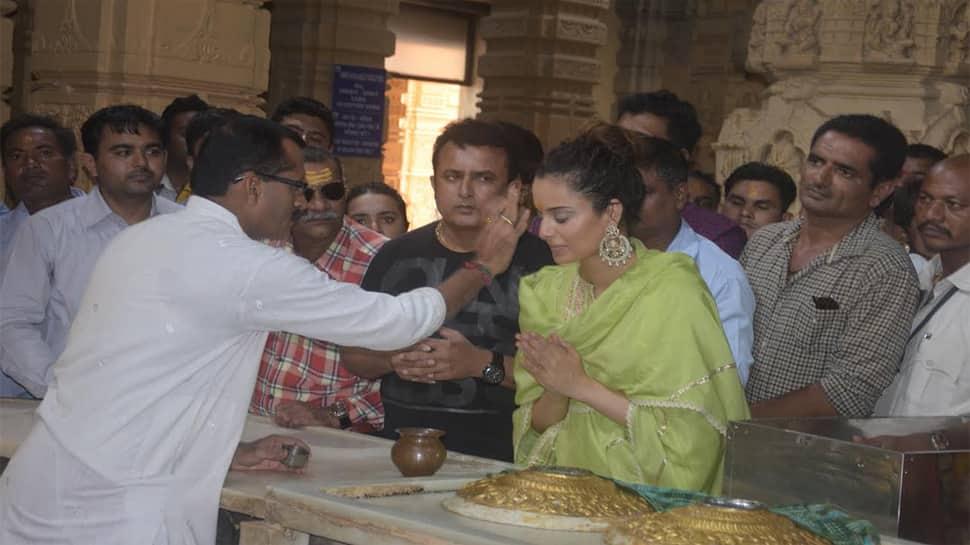 વિવાદ વચ્ચે કંગનાએ શેર કરી ગુજરાતની તસવીર, કહ્યું-જીત આખરે ભક્તિની થાય છે