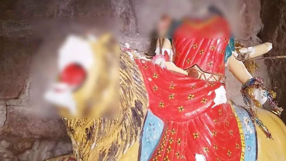 પાકિસ્તાનમાં કટ્ટરપંથીઓની શરમજનક કરતૂત, હિંગળાજ મંદિરમાં માતાની મૂર્તિ તોડી