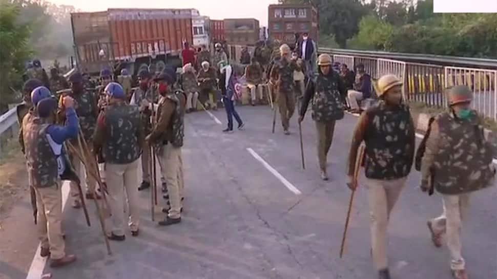 Farmer's Protest: ધરણા માટે ખેડૂતોની દિલ્હી તરફ કૂચ, બધી સરહદો સીલ કરી દેવાઈ