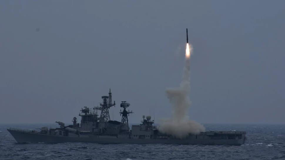 Indian Navy ની તાકાત વધી, એન્ટી શિપ મિસાઈલ Brahmos નું સફળ પરીક્ષણ