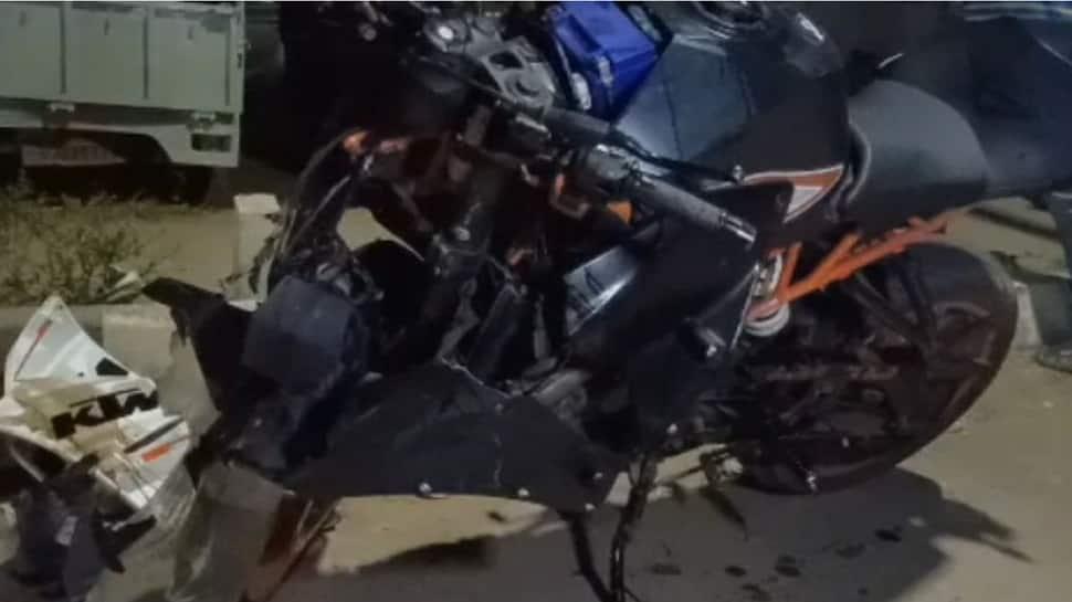 હિંમતનગર-વિજાપુર રોડ પર કાર અને બાઇક વચ્ચે અકસ્માત, એકનું મોત, બેને ઈજા