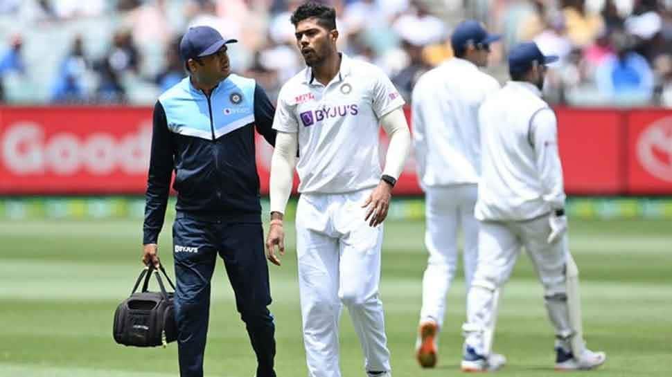 Boxing Day test: ભારતને લાગ્યો મોટો ઝટકો, ઈજાગ્રસ્ત થતા Umesh Yadav મેદાનથી બહાર