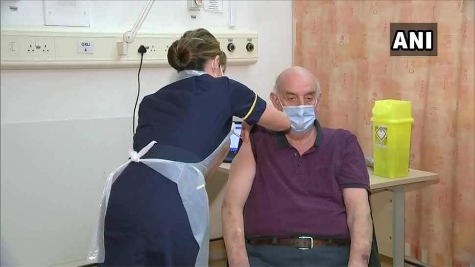 બ્રિટનમાં AstraZeneca-Oxford vaccine આપવાનું શરૂ, 82 વર્ષના વયોવૃદ્ધને રસી આપવામાં આવી