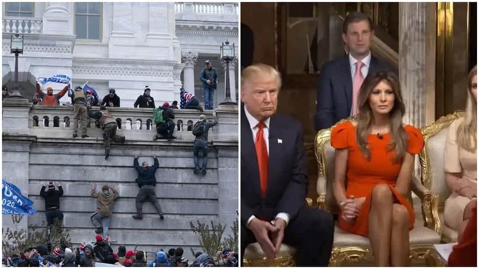 VIDEO: એકતરફ Capitol Hill પર થવાની હતી હિંસા, બીજી તરફ પાર્ટી કરી રહ્યા હતા ડોનાલ્ડ ટ્રમ્પ