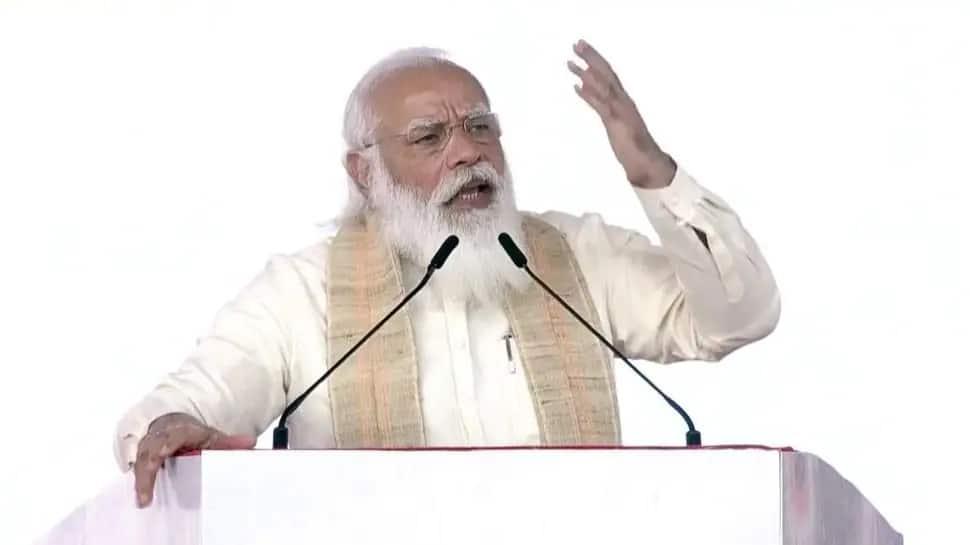 Dandi March Anniversary: PM મોદીએ મીઠાના 3 અર્થ ગણાવ્યાં, કહ્યું- આપણા ત્યાં મીઠું શ્રમ અને સમાનતાનું પ્રતિક