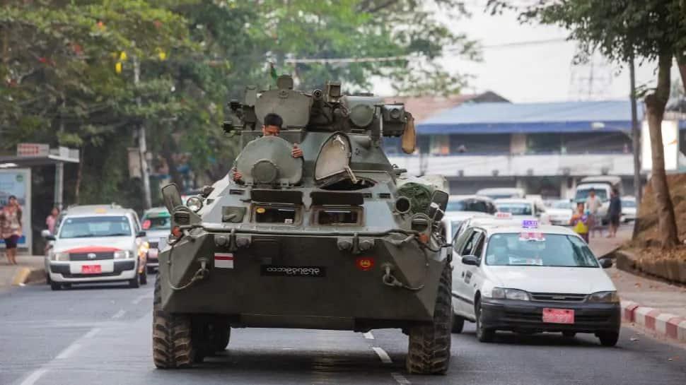 Myanmar: સૈન્ય તખ્તાપલટ વિરુદ્ધ પ્રદર્શન યથાવત, સુરક્ષાદળોના ફાયરિંગમાં પાંચ લોકોના મોત