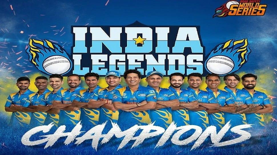 INDL vs SLL: સચિનની આગેવાનીમાં ભારતે જીતી રોડ સેફ્ટી વર્લ્ડ સિરીઝ, ફાઇનલમાં શ્રીલંકાને હરાવ્યું