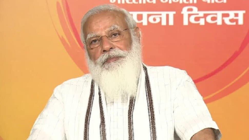 BJP Foundation Day 2021: ભાજપ શરૂઆતથી માને છે કે વ્યક્તિથી મોટો પક્ષ અને પક્ષથી મોટો દેશ: PM મોદી