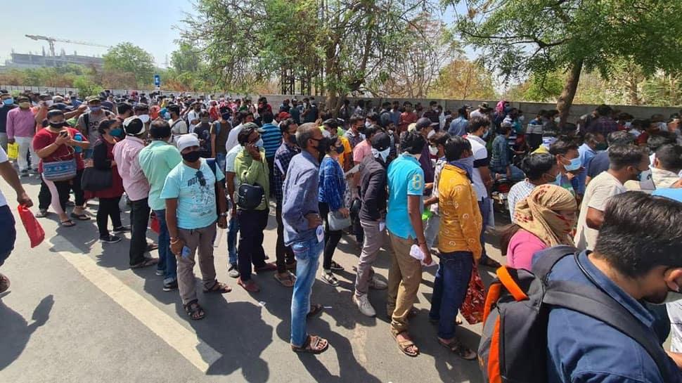 ગુજરાતના બે શહેરોની હાલત કફોડી, ખાધાપીધા વગર લાઈનમાં ઉભા રહેવા છતાં નથી મળતા રેમડેસિવિર