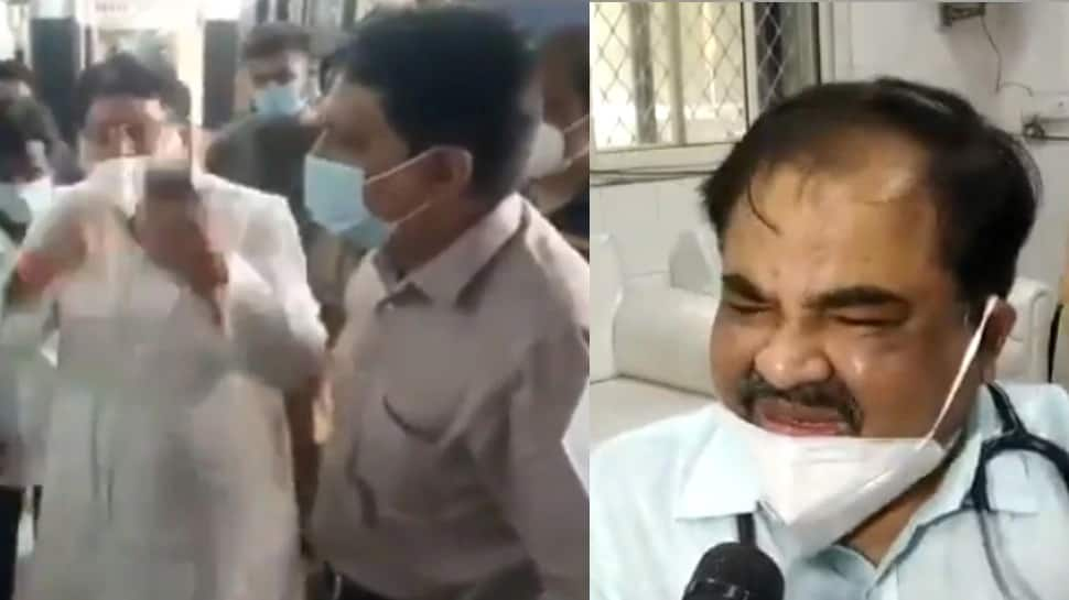 Video: કોરોનાકાળમાં ડોક્ટરે રડતાં રડતાં આપ્યું રાજીનામું, કોંગ્રેસના 2 નેતા સામે કેસ દાખલ