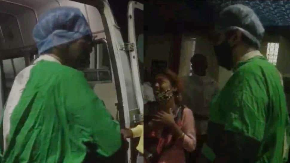 Viral: કોરોનાકાળમાં દર્દીની સારવાર કરવાની જગ્યાએ ગાળો ભાંડવા લાગ્યા ડોક્ટર, Video જોઈને હચમચી જશો