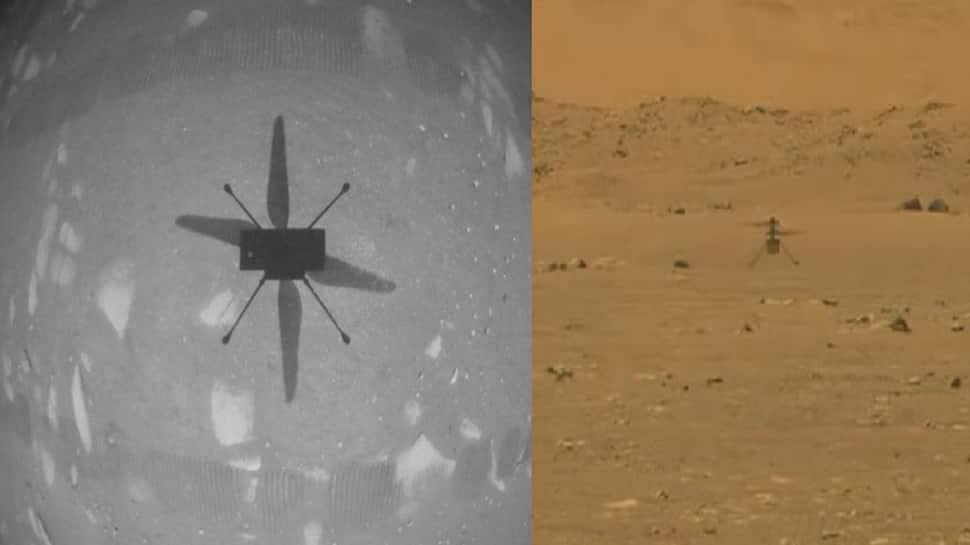 NASA એ મંગળ પર રચ્યો ઈતિહાસ, Ingenuity હેલિકોપ્ટરે ભરી પ્રથમ ઉડાન