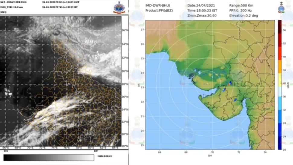 Ahmedabad સહિત આ શહેરોમાં થન્ડરસ્ટોર્મની આગાહી, વરસાદ સાથે 40 km કલાકની ઝડપે ફૂંકાશે પવન