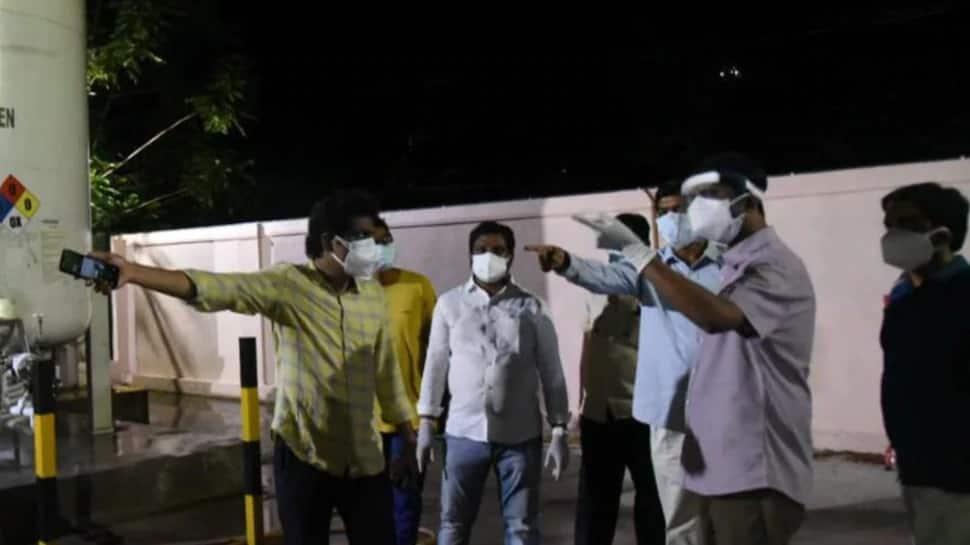 Andhra Pradesh: સરકારી હોસ્પિટલમાં ઓક્સિજન સપ્લાયમાં 5 મિનિટનો વિલંબ થયો, 11 દર્દીઓએ જીવ ગુમાવ્યા