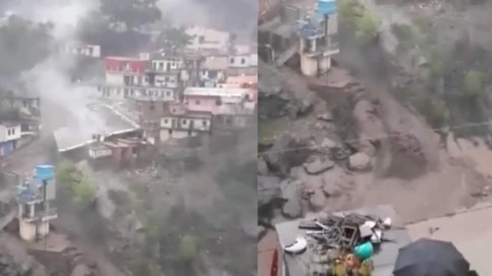 Uttarakhand માં વાદળ ફાટતા તબાહી, બે બિલ્ડિંગ ધરાશાયી; સમગ્ર વિસ્તારમાં પથરાયો કાટમાળ