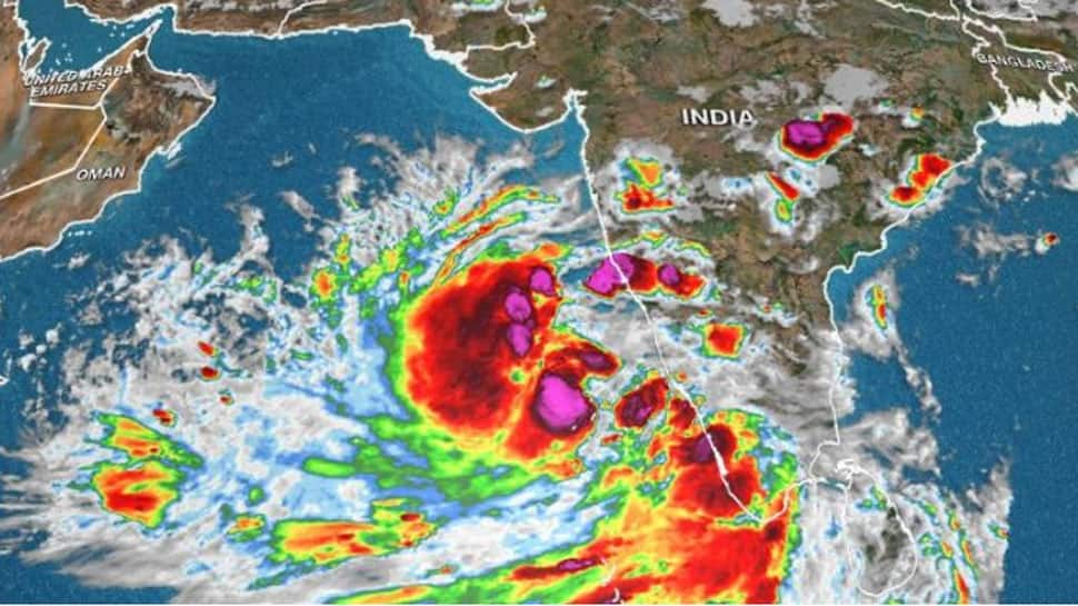 hurricane was 670 km away from Veraval, but its impact started in Gujarat