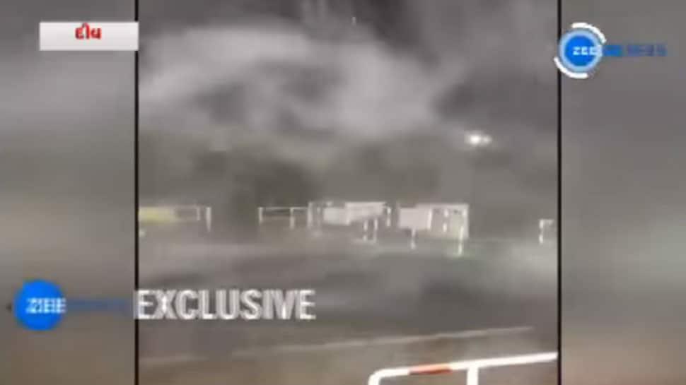 સુરેન્દ્રનગર તરફ વળ્યું વાવાઝોડું, હાલ તોફાન પ્રતિ કલાક 13 કિમીની સ્પીડે આગળ વધી રહ્યુ છે