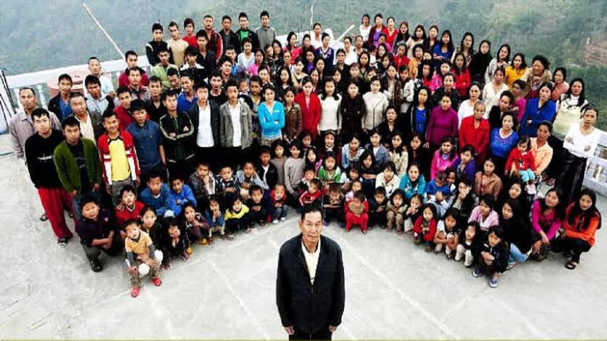 38 પત્ની અને 89 બાળકોના પિતા ઝિઓના ચાનાનું નિધન, સૌથી મોટા પરિવારના હતા મુખિયા