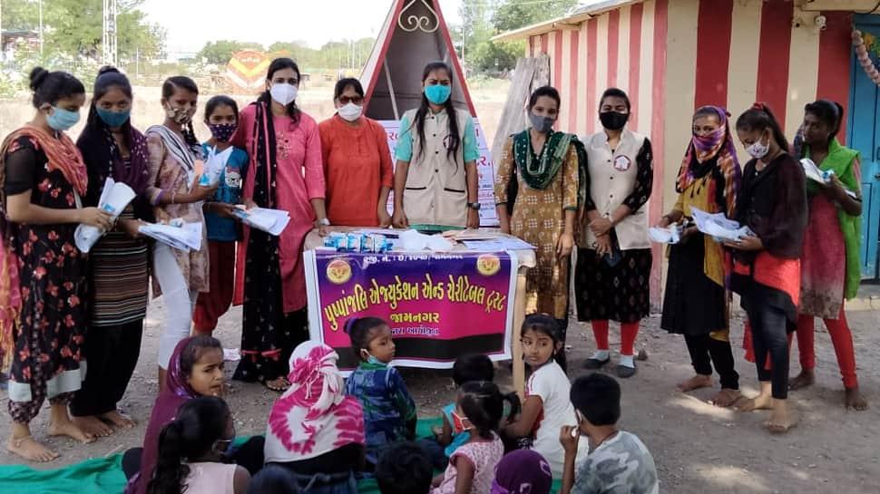 બાળ મજૂરી નાબુદ કરવા જામનગરમાં હાથ ધરાયું લોક જાગૃતિ અભિયાન