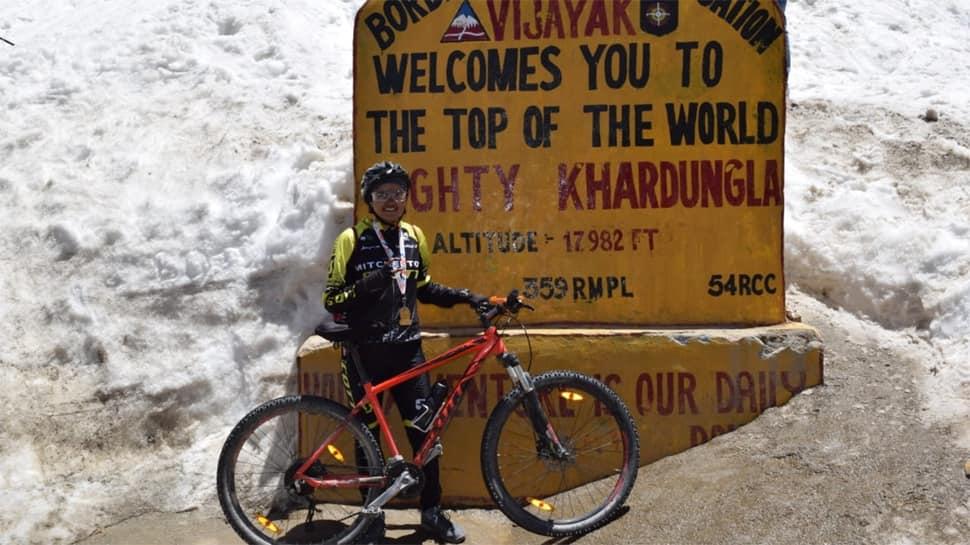Ride For Vaccination: એકલા હિમાલયની સાયકલ યાત્રા કરી દીકરીએ દાખલો બેસાડ્યો