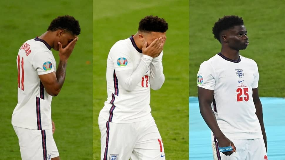 Euro 2020: પેનલ્ટી ચુકી જનાર ઈંગ્લિશ ખેલાડીઓ પર રંગભેદી ટિપ્પણી, PM જોનસન બોલ્યા- શરમ આવવી જોઈએ