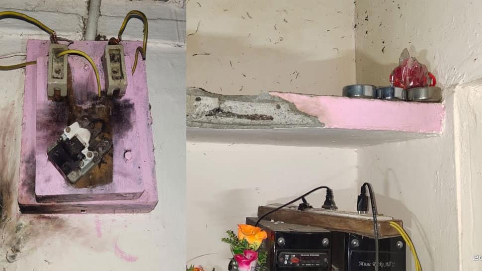 બનાસકાંઠામાં ગરીબ ખેડૂતના ઘર પર વીજળી પડી, તમામ વીજ ઉપકરણો બળીને ખાક થયા