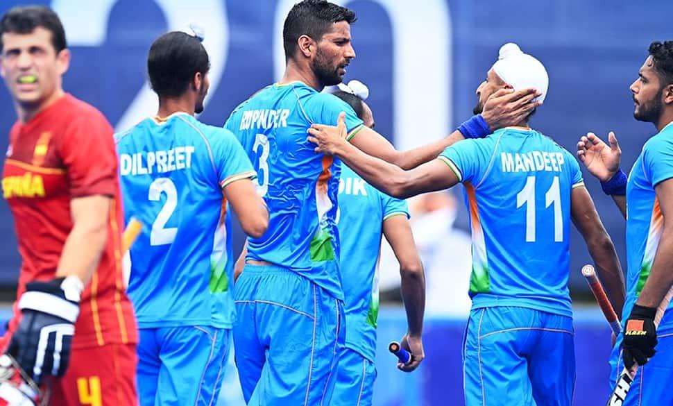 Tokyo Olympics: હોકીમાં ભારતની શાનદાર જીત, સ્પેનને 3-0થી પછાડ્યું, રૂપિન્દર સિંહે 2 ગોલ કર્યા