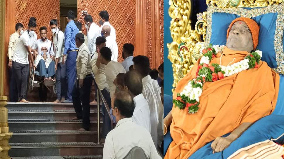 હરિપ્રસાદ સ્વામીના અંતિમ દર્શન માટે ભક્તોનું ઘોડાપૂર ઉમટ્યું, આવતીકાલે દિલ્હીના CM દર્શન કરવા આવશે
