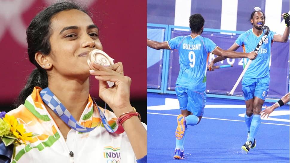 Olympics: સિંધુએ જીત્યો બ્રોન્ઝ મેડલ, હોકી ટીમ સેમીફાઇનલમાં; ભારતે આ રીતે કર્યો બેવડો ધડાકો