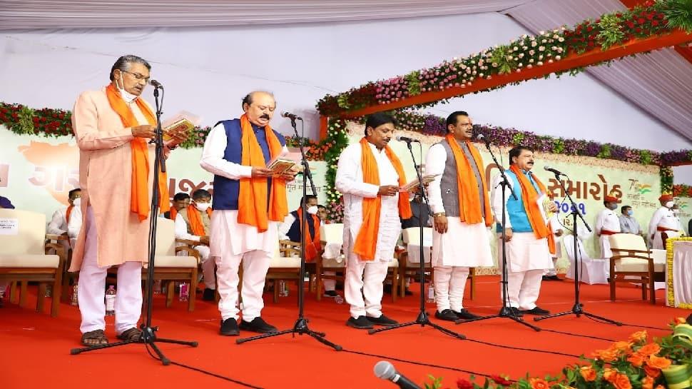 Gujarat New Cabinet: ગુજરાતની નવી કેબિનેટમાં મુખ્યમંત્રી સહિત 7 પાટીદાર નેતાઓને મળ્યું સ્થાન